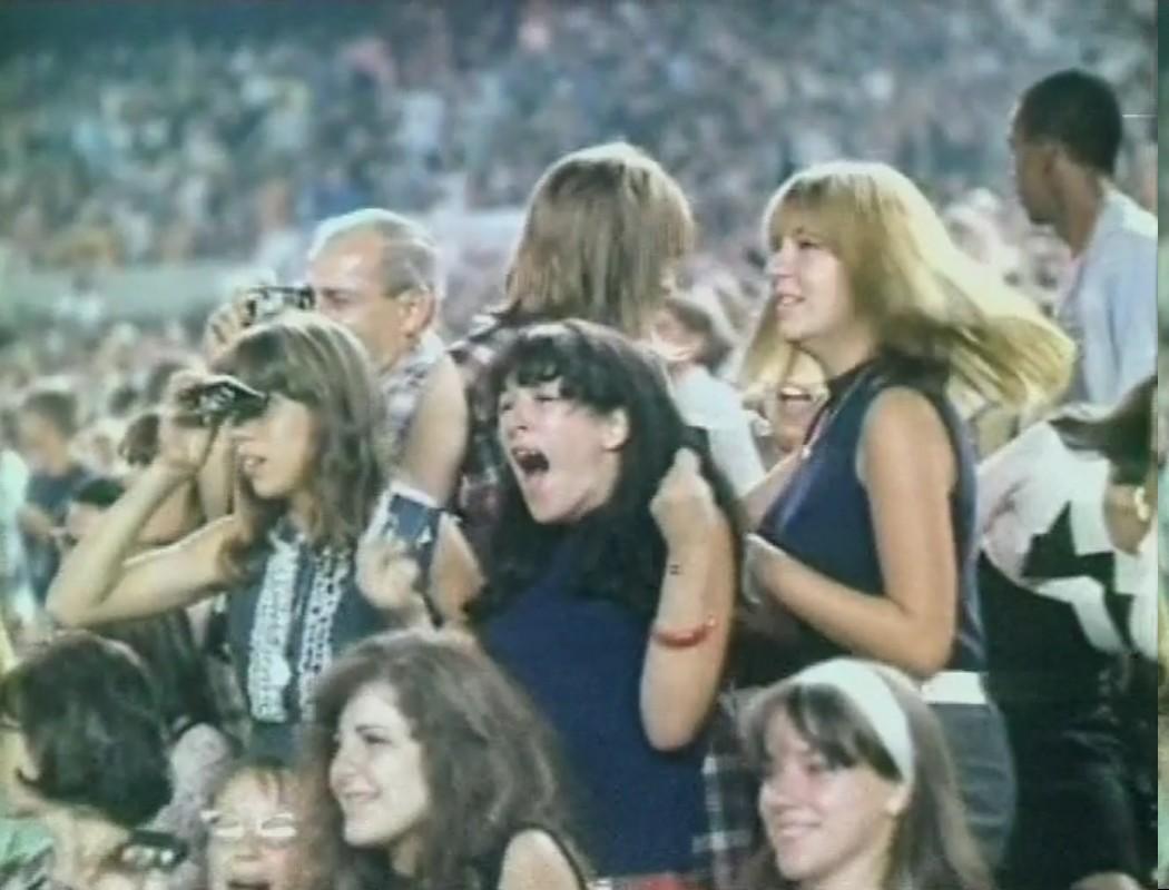 Katie Greenwood › The Beatles at Shea Stadium